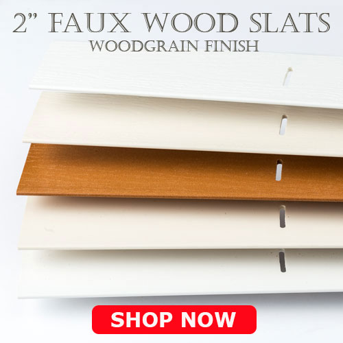 slats valances for repair wood faux wood blinds made to order. Black Bedroom Furniture Sets. Home Design Ideas