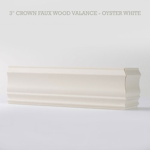 Crown Faux Wood Valance For Blinds Made To Order From 8 92 Inches