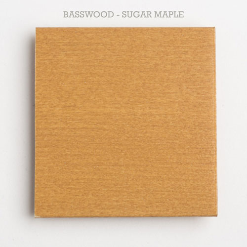 2 inch blind slat basswood sugar maple