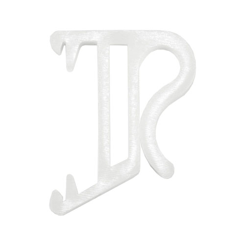 valance clip for hidden strip
