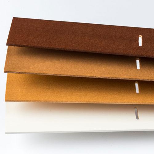 two inch wood blind slats