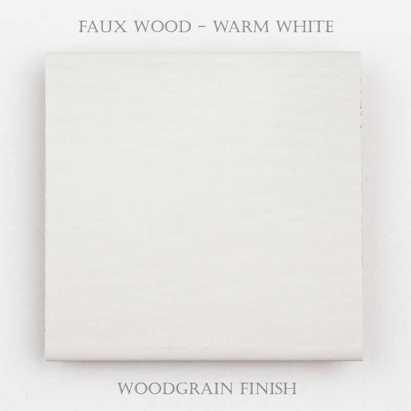 Faux Wood Woodgrain – Warm White