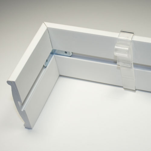 2.5 Inch Valance Clips For Horizontal Window Blinds Plastic,