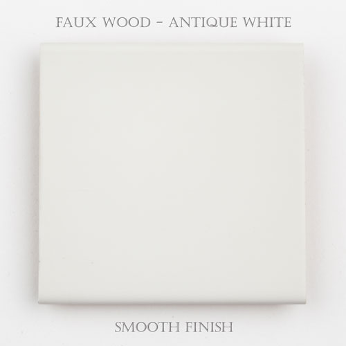 Faux Wood Smooth – Antique White