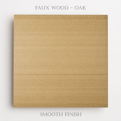 Faux Wood Smooth – Oak