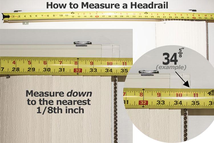 Vertical Instructions Blind Slats