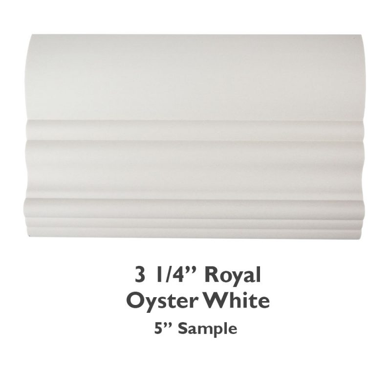 3 1/4″ Royal Faux Wood – Oyster White
