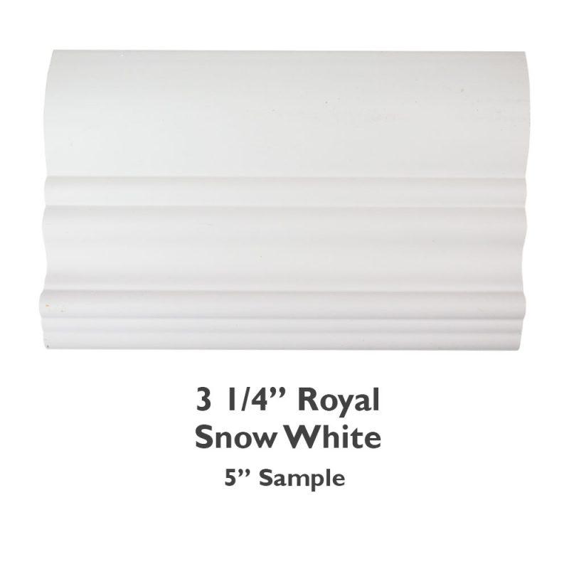 3 1/4″ Royal Faux Wood – Snow White